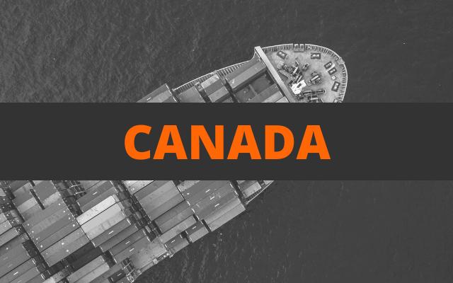 envoi container canada