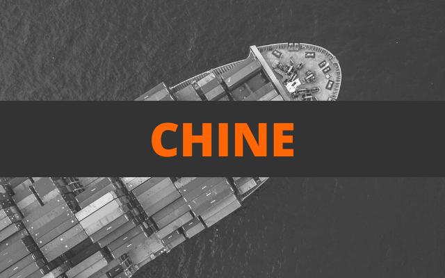 envoi container chine