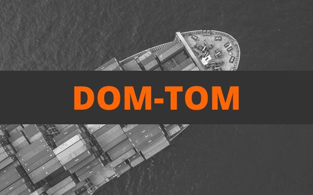 envoi container dom tom