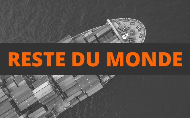 envoi container reste du monde