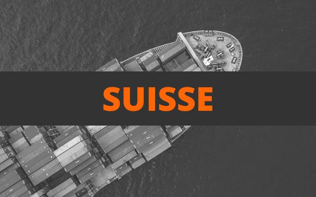 envoi container suisse