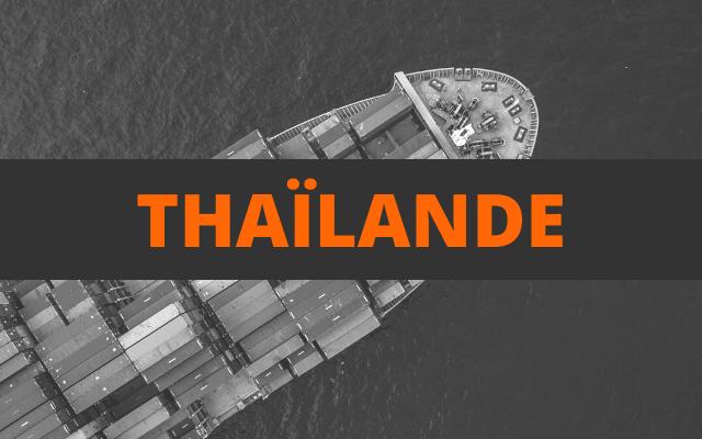 envoi container thailande