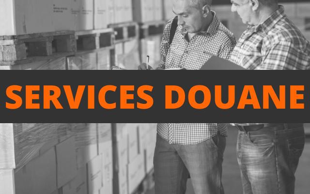 services douane
